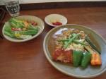 野菜とチキンのカレー